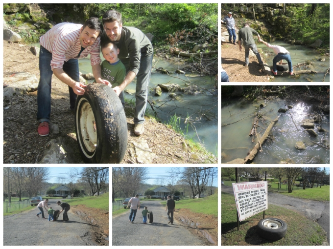 Our Easter 2015 Egg Hunt/Visit To Hawkins Spring Park