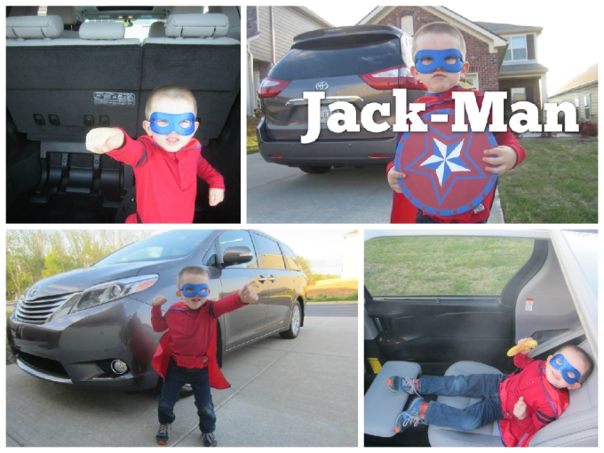 Dear Jack: Our Homemade Jack-Man Commercial For The Toyota Sienna