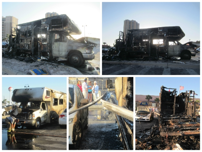 Dear Jack: The RV That Exploded In The Pensacola Parking Lot