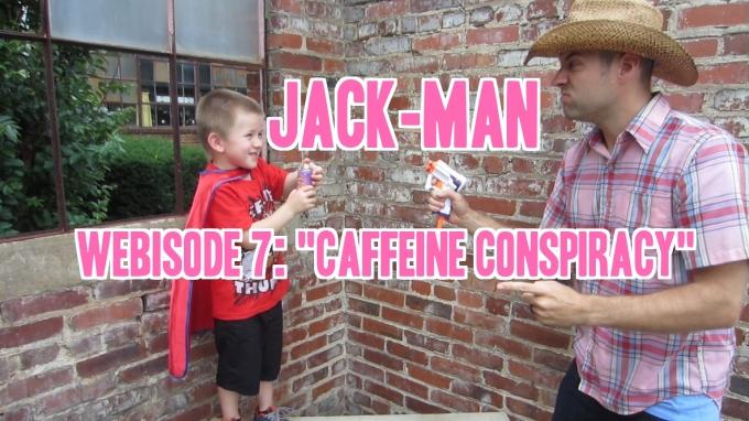 Dear Jack: Webisodes 7 & 8 of Jack-Man, Plus Motivational Speech; Shia LaBeouf Style