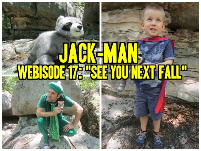 Dear Jack: Webisodes 16 and 17 of Jack-Man/Adventures in Fish-Sitting