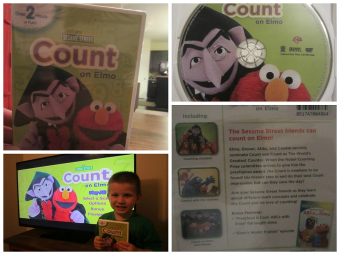 Sesame Street: Count on Elmo DVD Review
