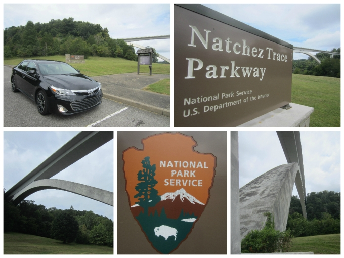 Dear Jack: 2015 Toyota Avalon Road Trip to Natchez Parkway Bridge/Butterfly Funeral