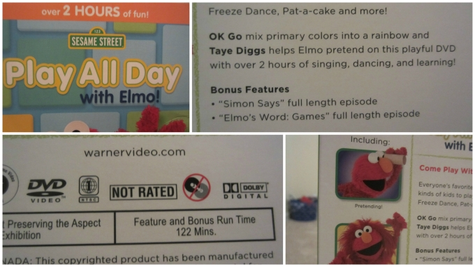 Play All Day with Elmo! DVD: What My Son Liked Most