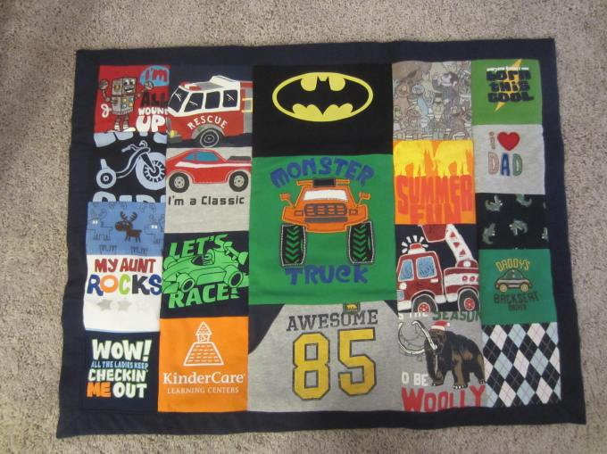 Dear Jack: Grandma's T-shirt Quilt/Pfunky Griddle with Mommy