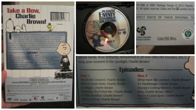 Peanuts Emmy Honored Collection: 11 Episode, 2 Disc Set