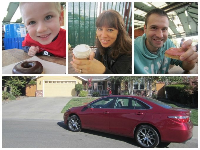 "Family in a Camry Series In August 2015, our family had the privilege of driving a 2015 Toyota Camry across northern California. We go to Sacramento every year to visit my wife's side of the family. While there, we always find ways to have some fun mini road trips. I would have to say that this particular trip was more epic than any other family trip we've been on in California. So I designed this page of my blog here on Family Friendly Daddy Blog to serve as a launching spot and navigation headquarters for my readers to catch up on all 5 posts and all 6 videos of my Family in a Camry Series. You'll also be able to enjoy my jingle I wrote and performed for the series: ""I got my family in a Camry and we're happy campers trippin' to your town… here we go!"" My Family in a Camry series consists of 4 main webisodes. Just click the title, in bold, to be transported to that particular blog post and video. I also conveniently placed each corresponding customized video I made under each of these titles: Daddy Date (video) Evan's 5th Birthday Party (video) Monterey Bay Aquarium (video) Santa Cruz Boardwalk Beach Amusement Park (video) Then, to top it off, the 5th webisode in my Family in a Camry series doubles as the 19th webisode of my superhero series, Jack-Man; in which Jack-Man must team up with his arch nemesis Green Meanie in an effort to find the keys to the 2015 Toyota Camry in order find their way back to Sacramento, from China. Jack-Man: Chinese Field Trip (Webisode 19) (link) As a spin-off, I also created a walk around video for the 2015 Toyota Camry, which is part of the plot of the Jack-Man webisode. (link) Thanks for reading (and watching) my family's Family in a Camry series!"
