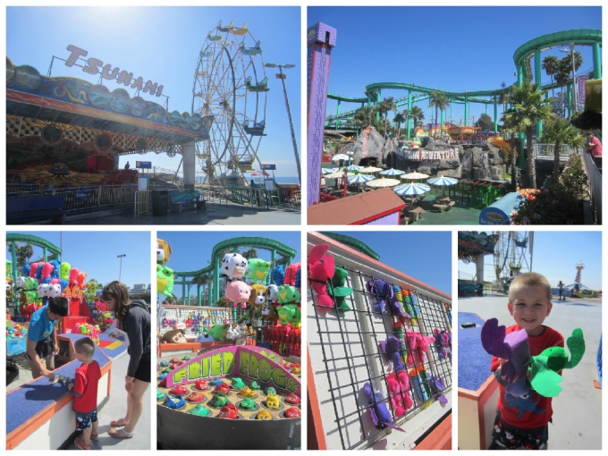 "Dear Jack: Family in a Camry- ""Santa Cruz Beach Boardwalk Amusement Park"""