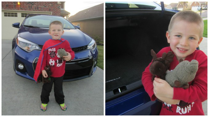 The first week of October 2105, our family was privileged to be able to drive a 2015 Toyota Corolla. It turned out to be quite the eventful week.