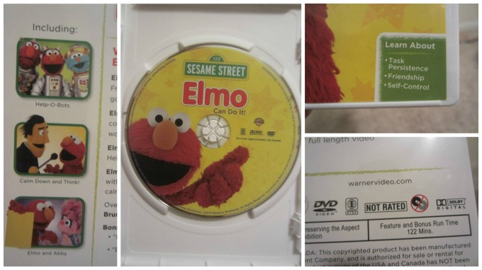 Sesame Street: Elmo Can Do It! DVD Review