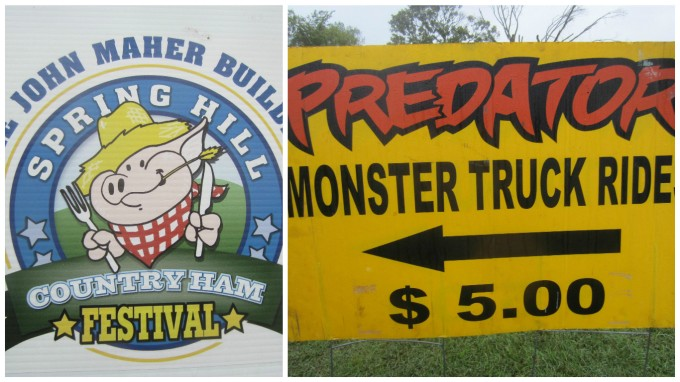 Dear Jack: We Rode in a Real Monster Truck at the Spring Hill Ham Festival!
