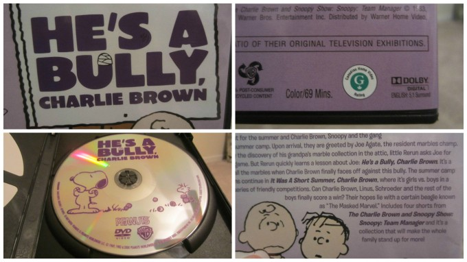 He's a Bully, Charlie Brown DVD Review