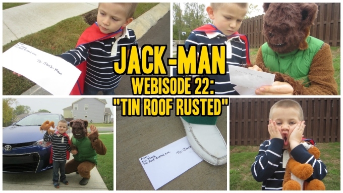 "Webisode 22 of Jack-Man, ""Tin Roof Rusted"" (Pregnancy Announcement Video)"