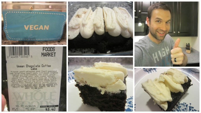 I Invented the Vegan Frosted Chocolate Coffee Cake at the Whole Foods in Franklin, Tennesse