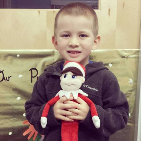 Dear Jack: The Elf on the Shelf is Your Newest Stuffed Animal