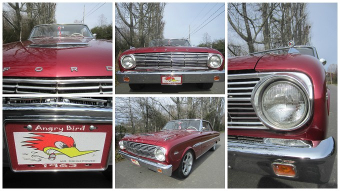 My Dad's 1963 Ford Falcon Futura (Video and Picture Collages)