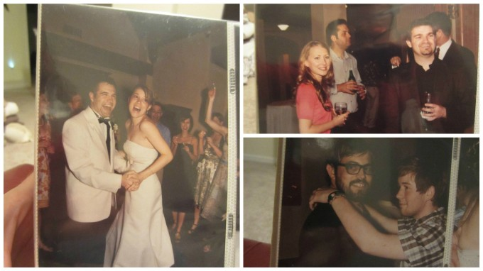 Laughing, Looking through on Our Wedding Album: 3 Things I Noticed