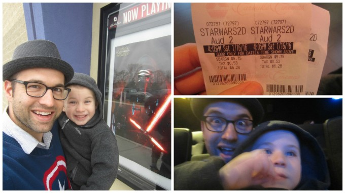 Dear Jack: Taking You to See Stars Wars (The Force Awakens) was a Top Parenting Moment for Me *No Spoilers*