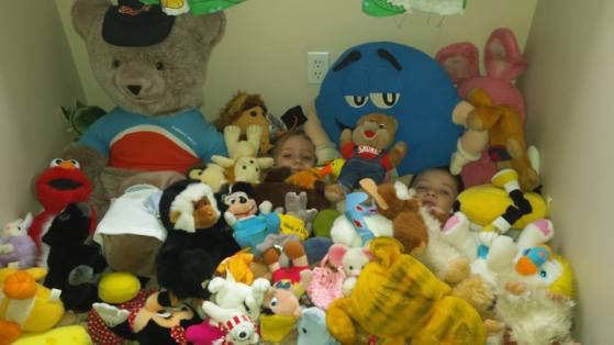 Dear Jack: Hiding in an Ocean of Stuffed Animals, Like E.T. in 1982