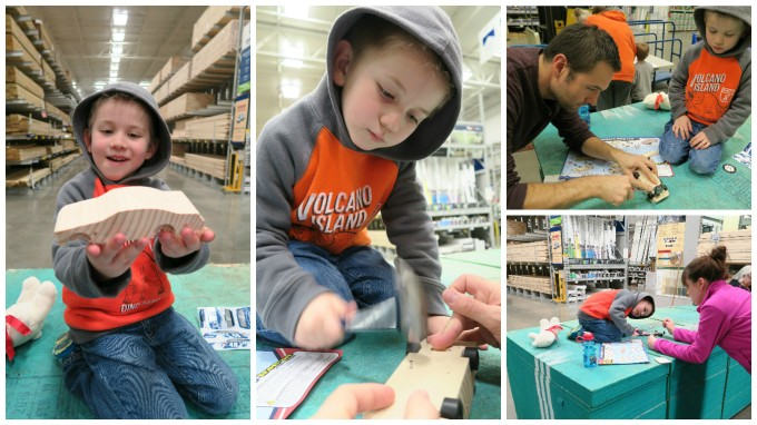 Dear Jack: We Built the Pull Back Car at Lowe's… Twice