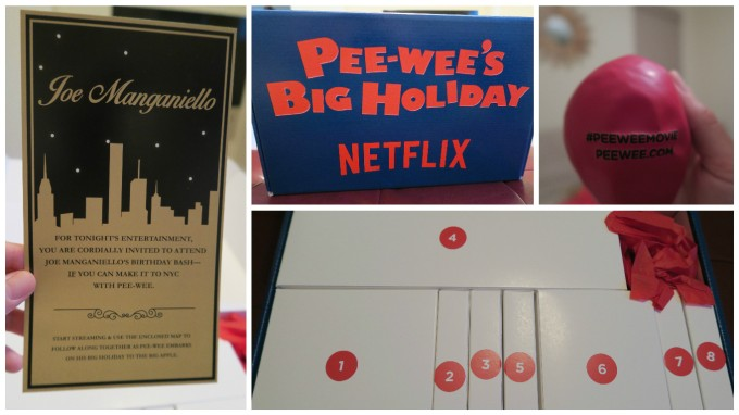 Unboxing of the Interactive Watch Kit for Pee-wee's Big Holiday