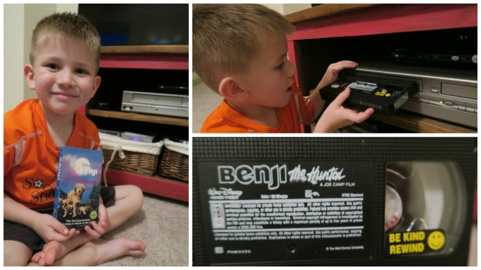 Dear Jack: Your1st Introduction to a VHS Tape- Disney's Benji the Hunted (from 1987)