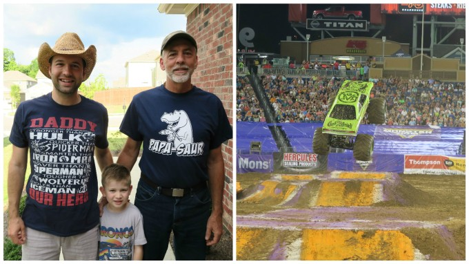 Dear Jack: Monster Jam at the Nissan Stadium for Father's Day 2016