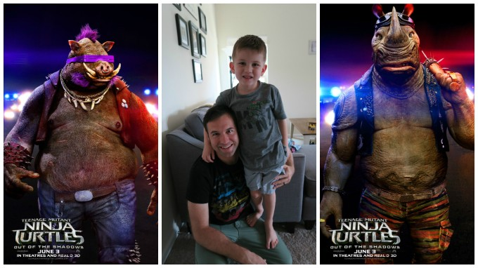 Dear Jack: We Loved Teenage Mutant Ninja Turtles- Out of the Shadows!