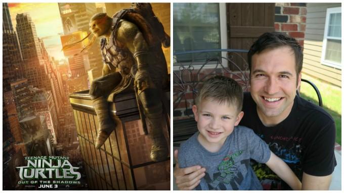 Dear Jack: We Loved Teenage Mutant Ninja Turtles- Out of the Shadows!