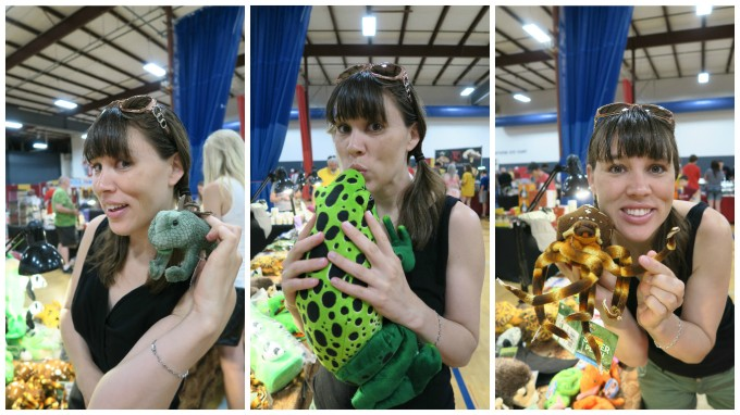 Dear Jack: Your Giant Poison Dart Frog from the Nashville Reptile Show