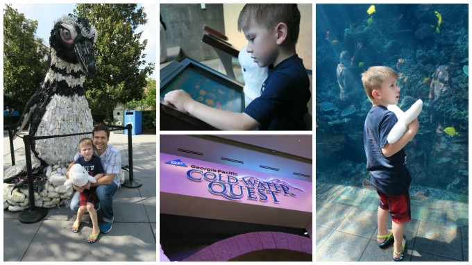 Dear Jack: Our Trip to the Atlanta Aquarium