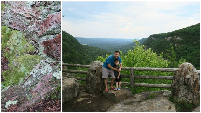 Dear Jack: Our 1st Father and Son Road Trip- Cloudland Canyon State Park (in the 2016 Lexus ES 300h Hybrid)