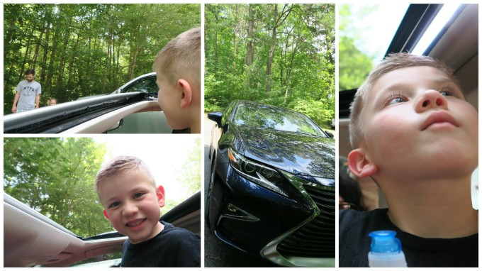 Dear Jack: Our 1st Father and Son Road Trip- Azalea Cascade Trail at DeSoto State Park (in the 2016 Lexus ES 300h)