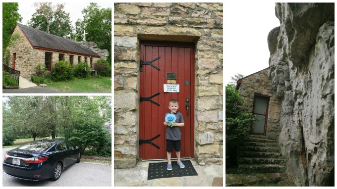 Dear Jack: Our 1st Father and Son Road Trip- Sallie Howard Memorial Chapel (in the 2016 Lexus ES Hybrid)