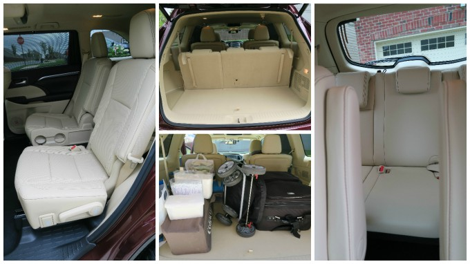 2016 Toyota Highlander Limited: 3rd Row Seat Space & Child Car Seat Placement
