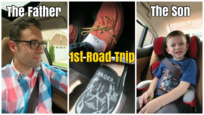Dear Jack: Our 1st Father and Son Road Trip- Ghostbusters and The BFG (in the 2016 Lexus ES Hybrid)