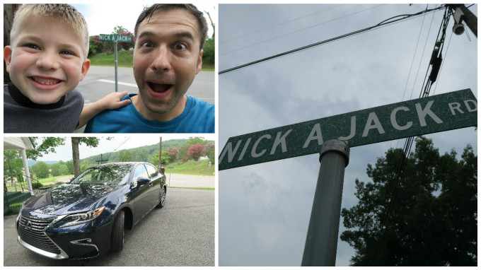 Dear Jack: Our 1st Father and Son Road Trip- Nickajack Road (in the 2016 Lexus ES Hybrid)