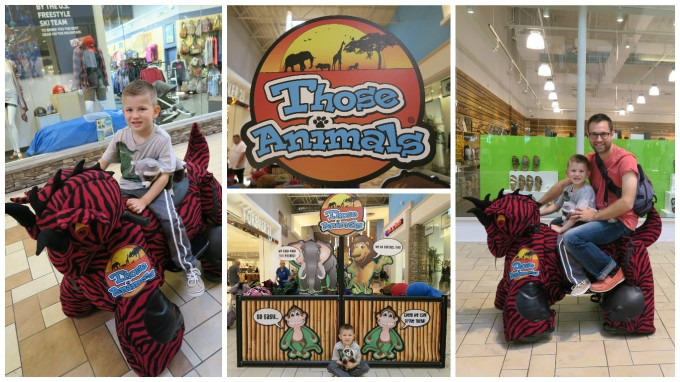 "Dear Jack: Our Ride on ""Those Animals"" at the Opry Mills Mall in Nashville"