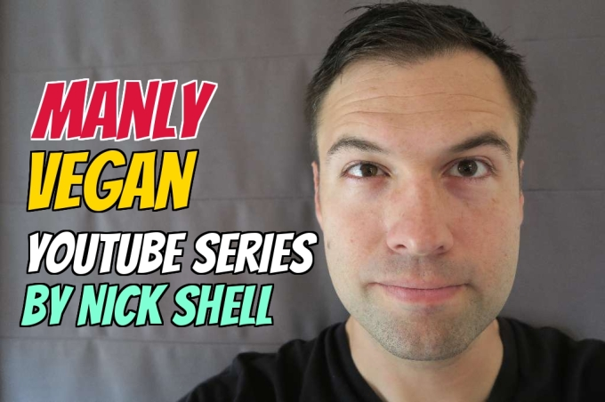 Today I introduce the first 5 episodes of my newest video series, Manly Vegan...