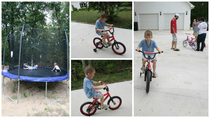 Dear Jack: Your First Bicycle Ever- Christmas Came Early, Again