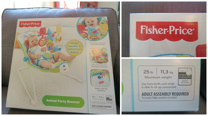 Dear Holly: Your New Animal Party Bouncer by Fisher Price