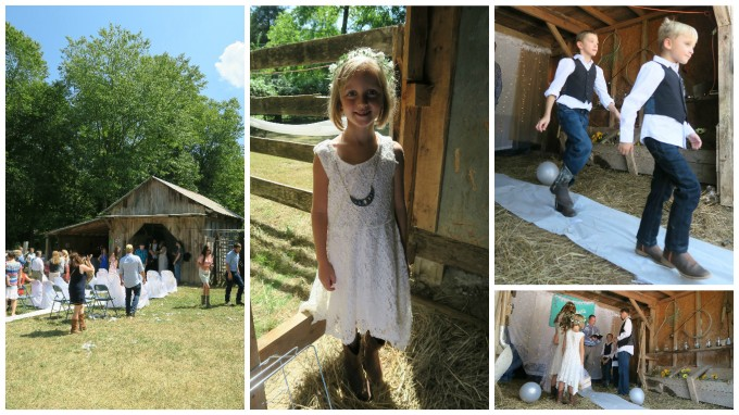 Dear Jack: It's the Barn Wedding Where You Can Catch a Fish and Hold a Snake!