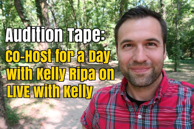 "Why I Auditioned to be Kelly Ripa's Co-host for a Day on ""LIVE with Kelly"""