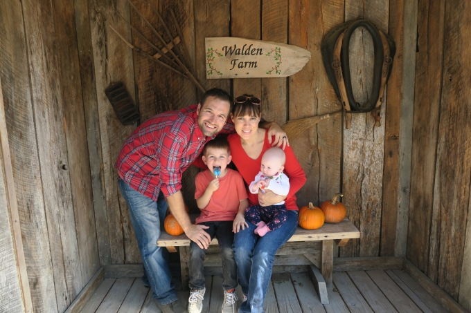 Dear Jack: Our Family Went to Walden Farm Pumpkin Patch