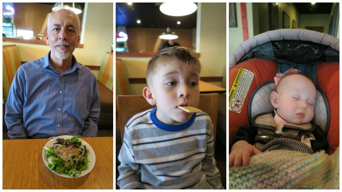 Dear Jack: Celebrating Your 6th Birthday and Papa's 60th Birthday with Pumpkin Pie and Greek Food