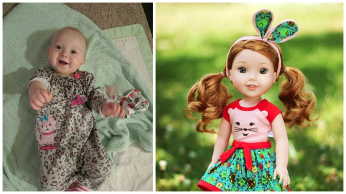 Dear Holly: I Predict You Will Look Like Willa, the American Girl Doll