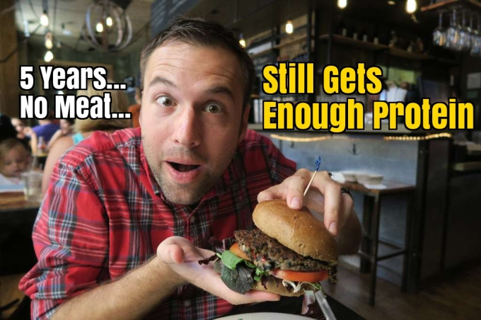 Manly Vegan: Today I've Been a Vegetarian for 5 Years (and Clearly, I'm Getting Enough Protein)