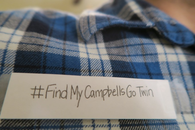 Find My Campbell's Go Twin: Please Help Me By Sharing My Story #FindMyCampbellsGoTwin