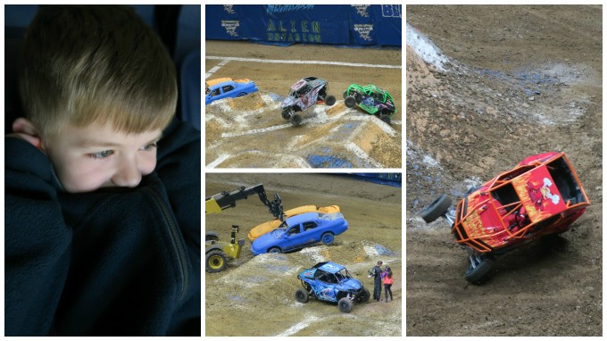 Dear Jack: Monster Jam 2017 (Weekend of Manliness! in a 2004 Honda Element, Part 2/3)
