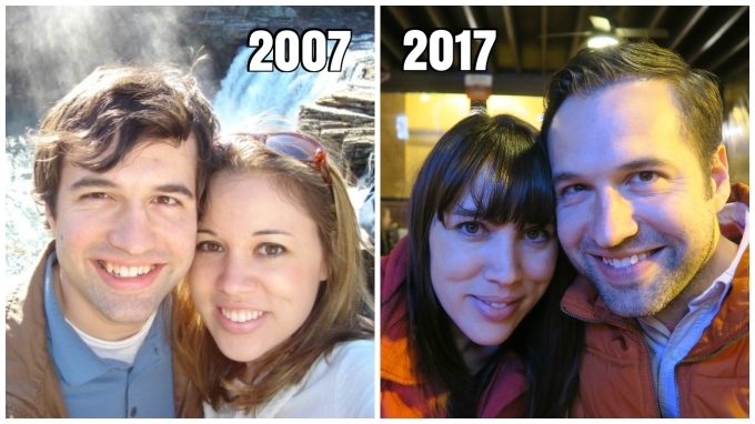 Exactly 10 Years after Our First Date